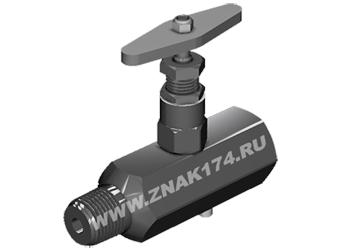 Вентиль стальной манометрический (тип ВПЭМ)